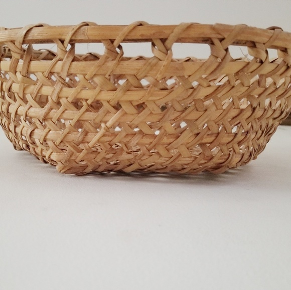 Other - Hand crafted Farmhouse wicker basket